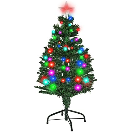 holiday essence 3 foot prelit led premium hinged artificial christmas pine tree solid metal legs 100