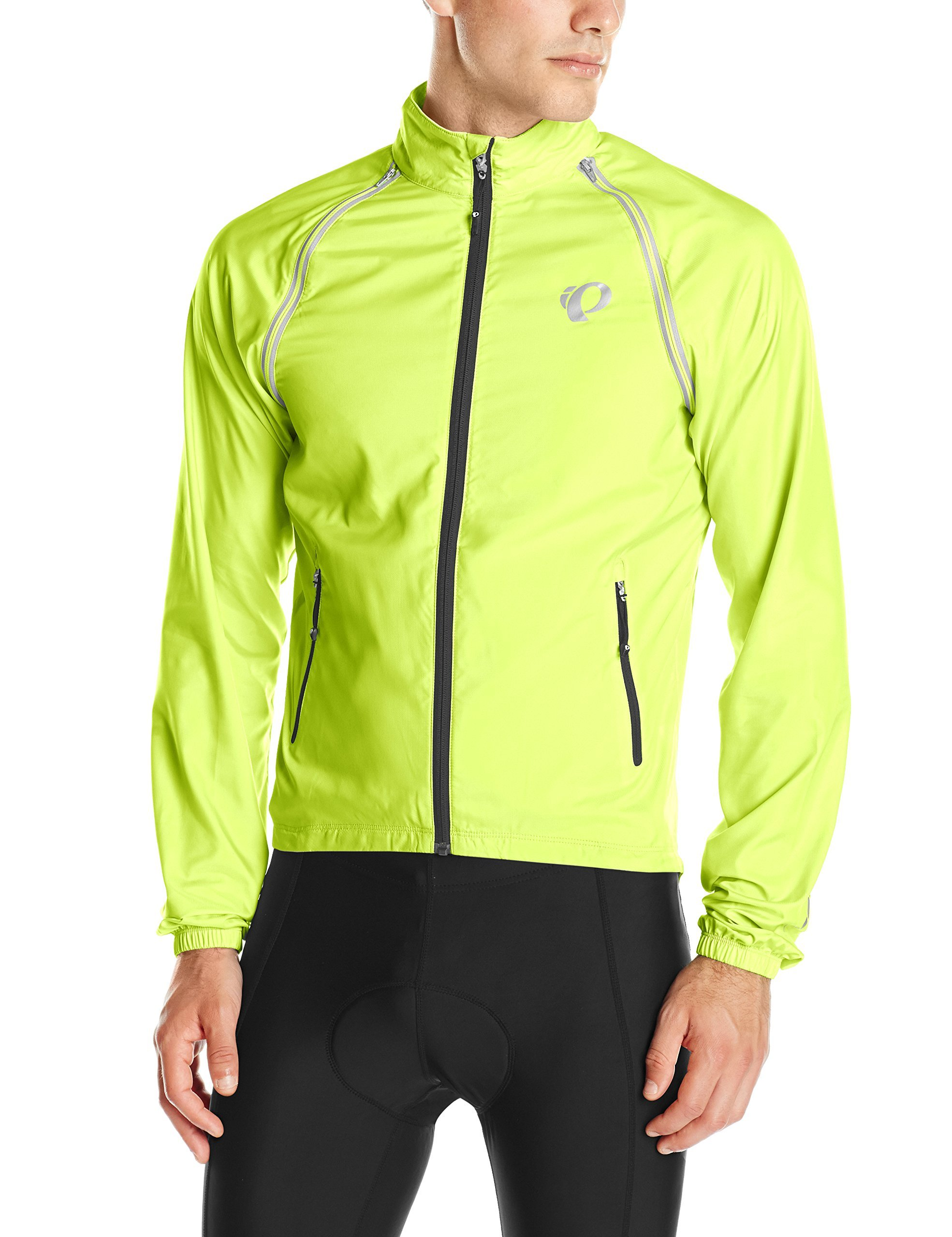 Pearl Izumi - Ride Men's Elite Barrier Convertible Jacket, Large, Screaming Yellow