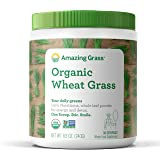 Amazing Grass Organic Wheat Grass Powder, 30 Servings