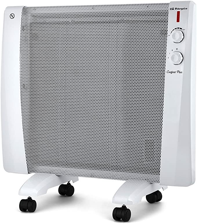Orbegozo RM 1500 Radiador de Mica, W, Color blanco: Amazon.es: Hogar