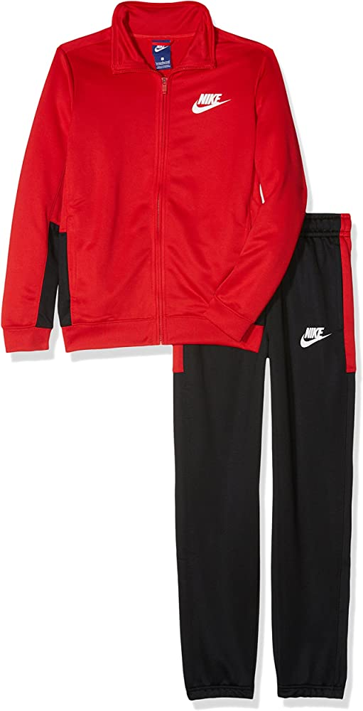 NIKE B NSW TRK Suit Pac Poly Chándal, Niños, Rojo (University Red/Black/White), S: Amazon.es: Ropa y accesorios