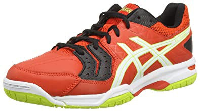Asics Gel-Squad, Men's Handball Shoes, Red (Cherry Tomato/White/