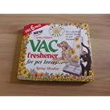 6 Pack Extra Strength Vac Fresheners For Pet Lovers by s p toiletries