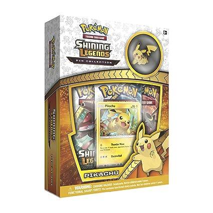 c067e6d1b Amazon.com: Pokemon SM3.5 Shining Legends Pikachu Pin Box Toy, Camouflage:  Toys & Games