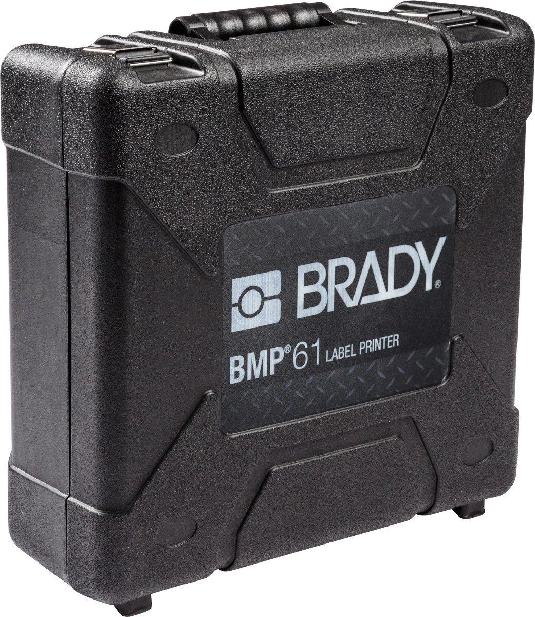 Brady BMP-HC-1 BMP61 Label Printer Accessory Hard Case, Black
