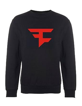 54430ee23b7 Inspired Faze Clan Logo Hoodies Call of Duty Advanced Warfare Black ops  Ghosts Jumper  Amazon.co.uk  Clothing