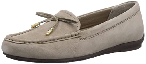 Rockport TOTAL MOTION DRIVER - mocasines de cuero mujer, color gris, talla 41: Amazon.es: Zapatos y complementos