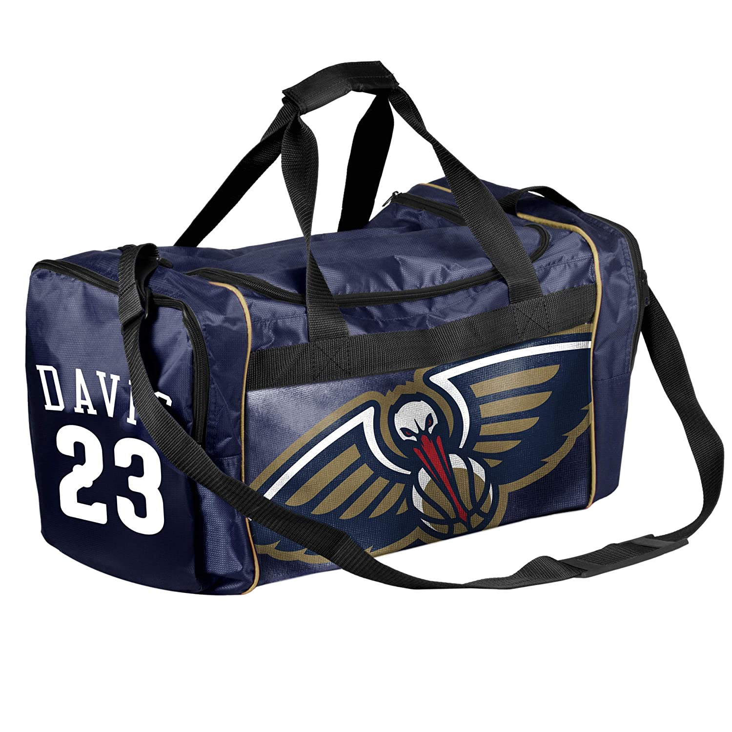 FOCO NBA New Orleans Pelicans Core Duffel Gym Bag - Anthony Davis #23
