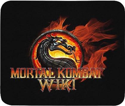 Amazon Com 3d Mortal Kombat Logo Mouse Pad Rectangle Non Slip