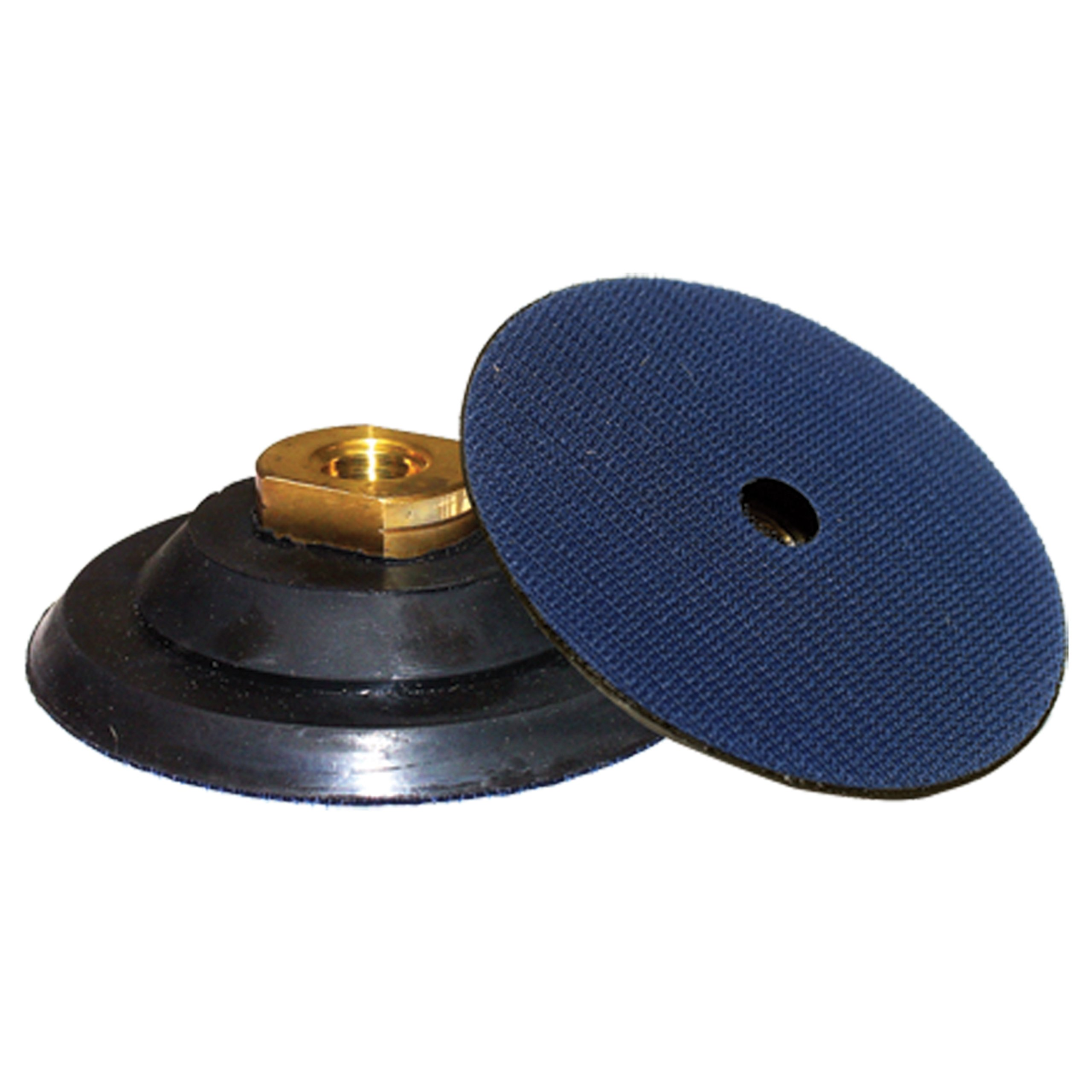 Alpha 4'' Flexible Rubber Backer Head with 5/8''-11 Thread