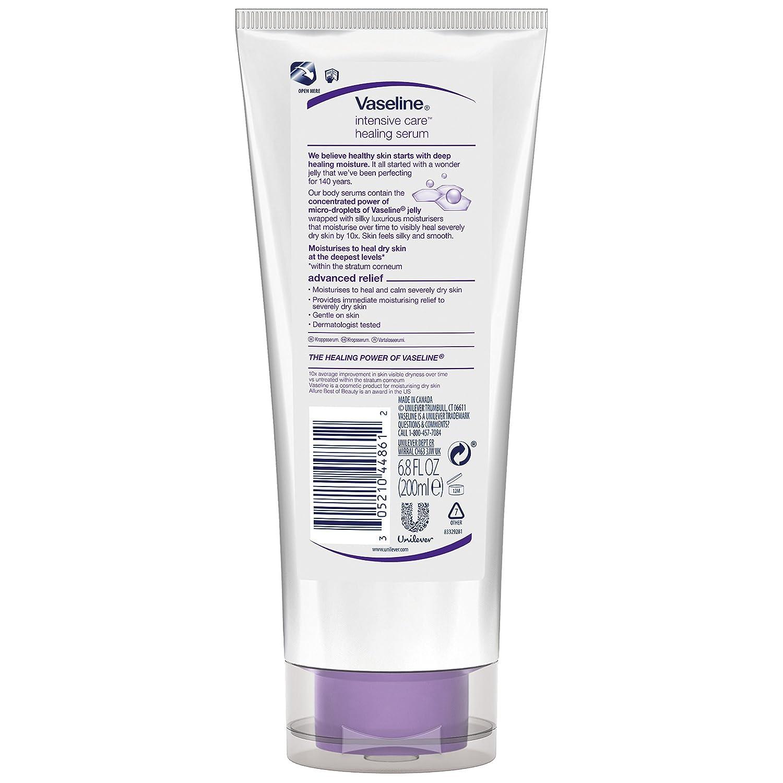 "Vaseline Intensive Care Healing Serum, Radiance Restore 6.80 oz (Pack of 3) LightenUPв""ў PLUS Active Lightening Cream 100ml"