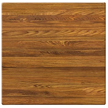 Gentil Duratop 32u0026quot; X 32u0026quot; Table Top In Teak