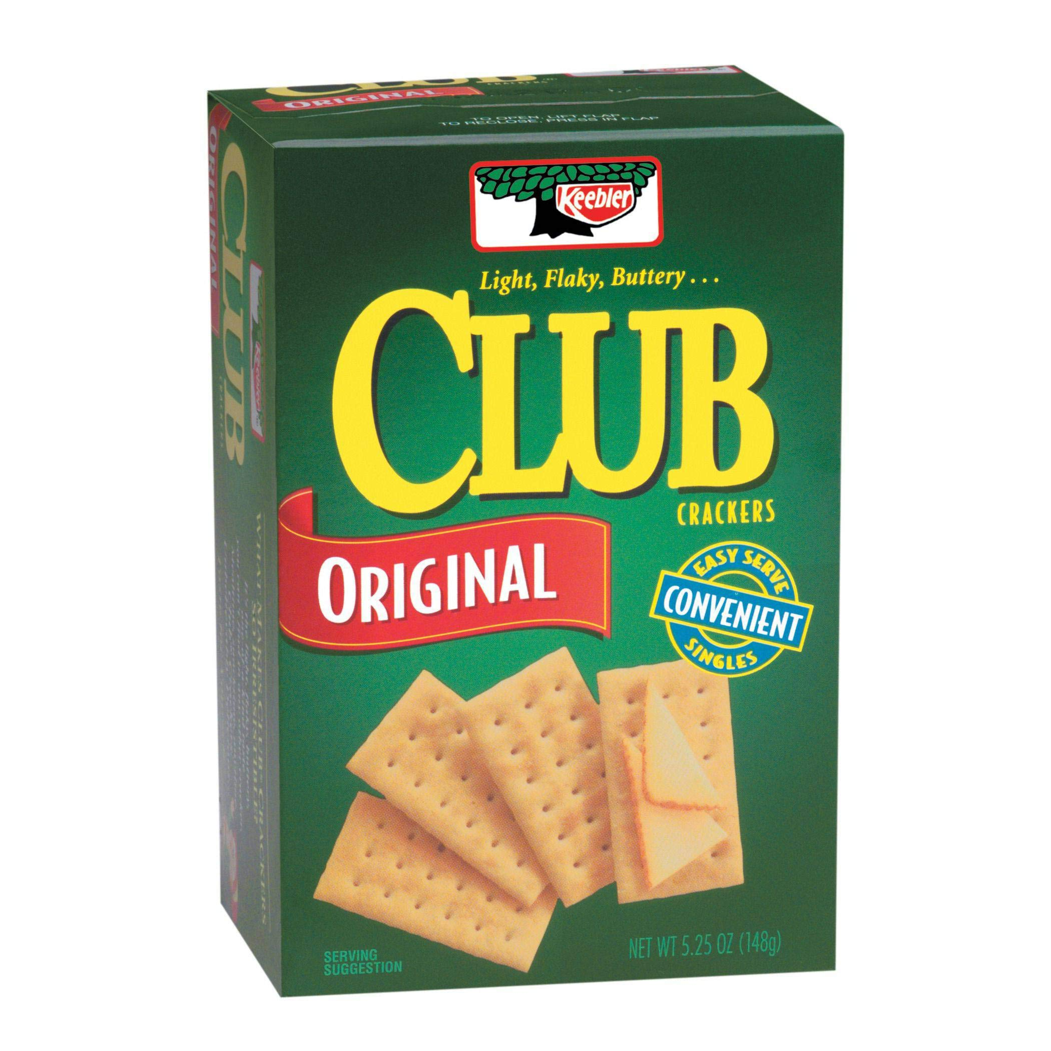 Keebler Club Crackers - 5.25 oz. package, 12 per case by Kellogg's