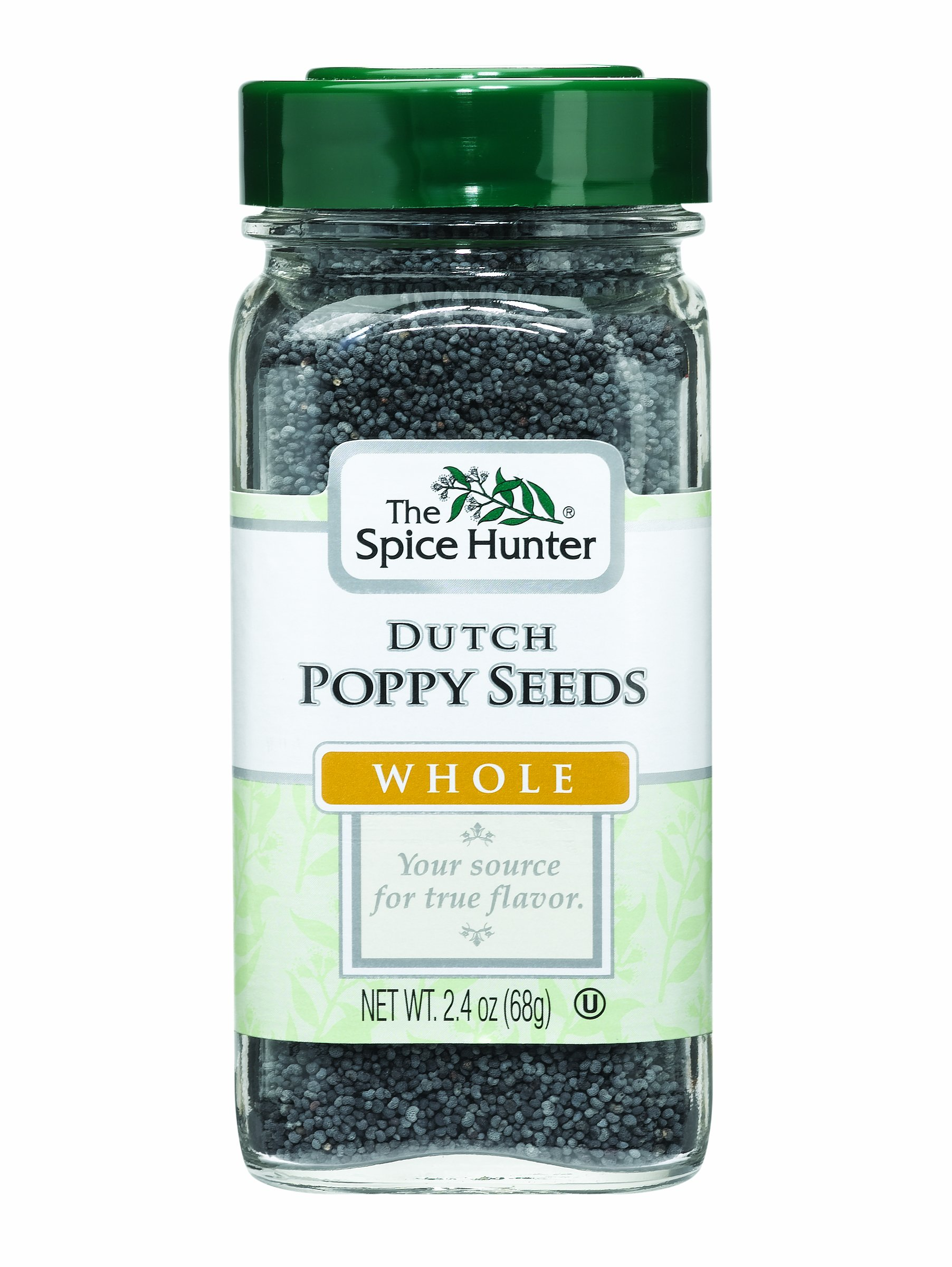 The Spice Hunter Poppy Seeds, Dutch, Whole, 2.4-Ounce Jars (Pack of 6) by Spice Hunter (Image #1)