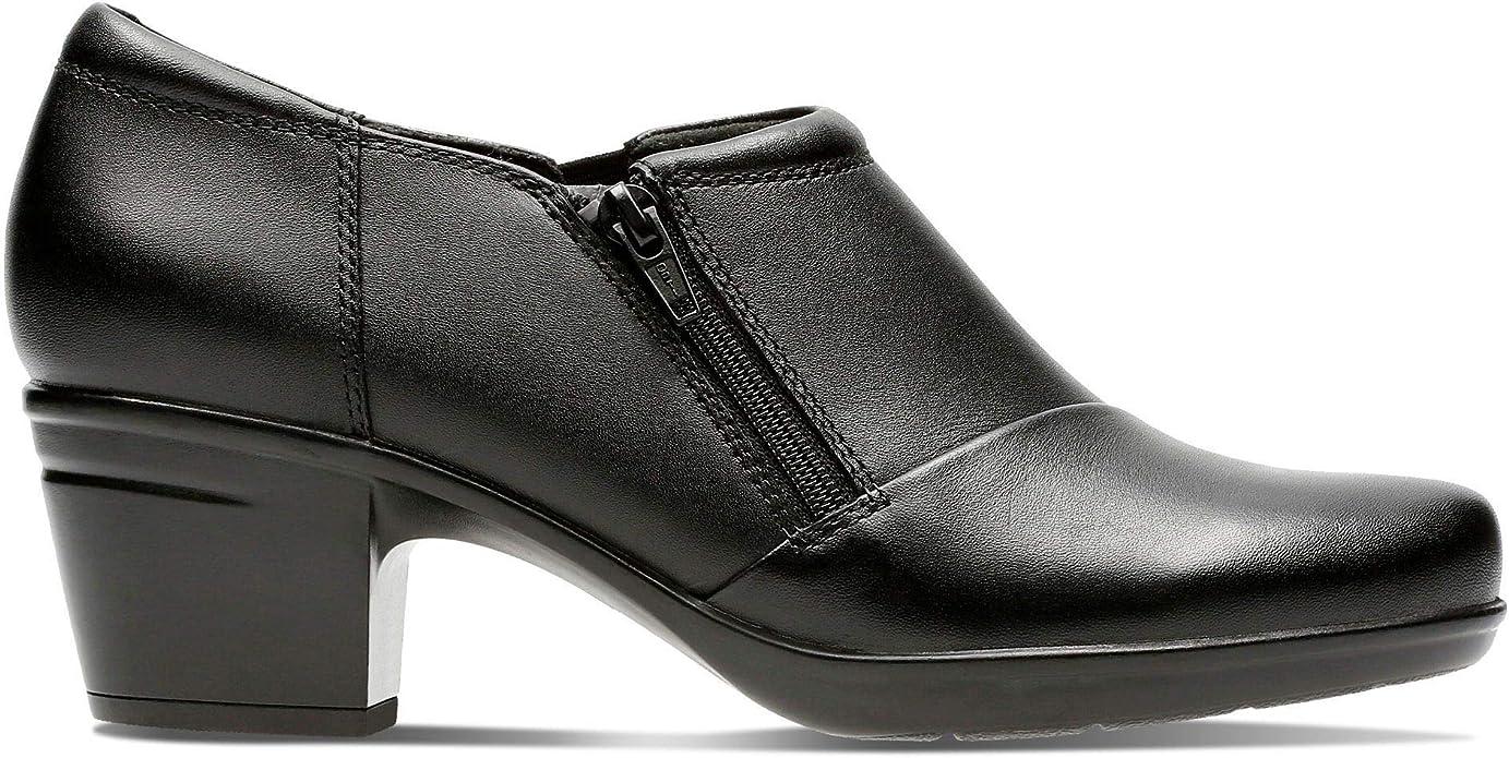 Zapatos de tacón de Mujer CLARKS 26137024 Emslie Black Leather ...