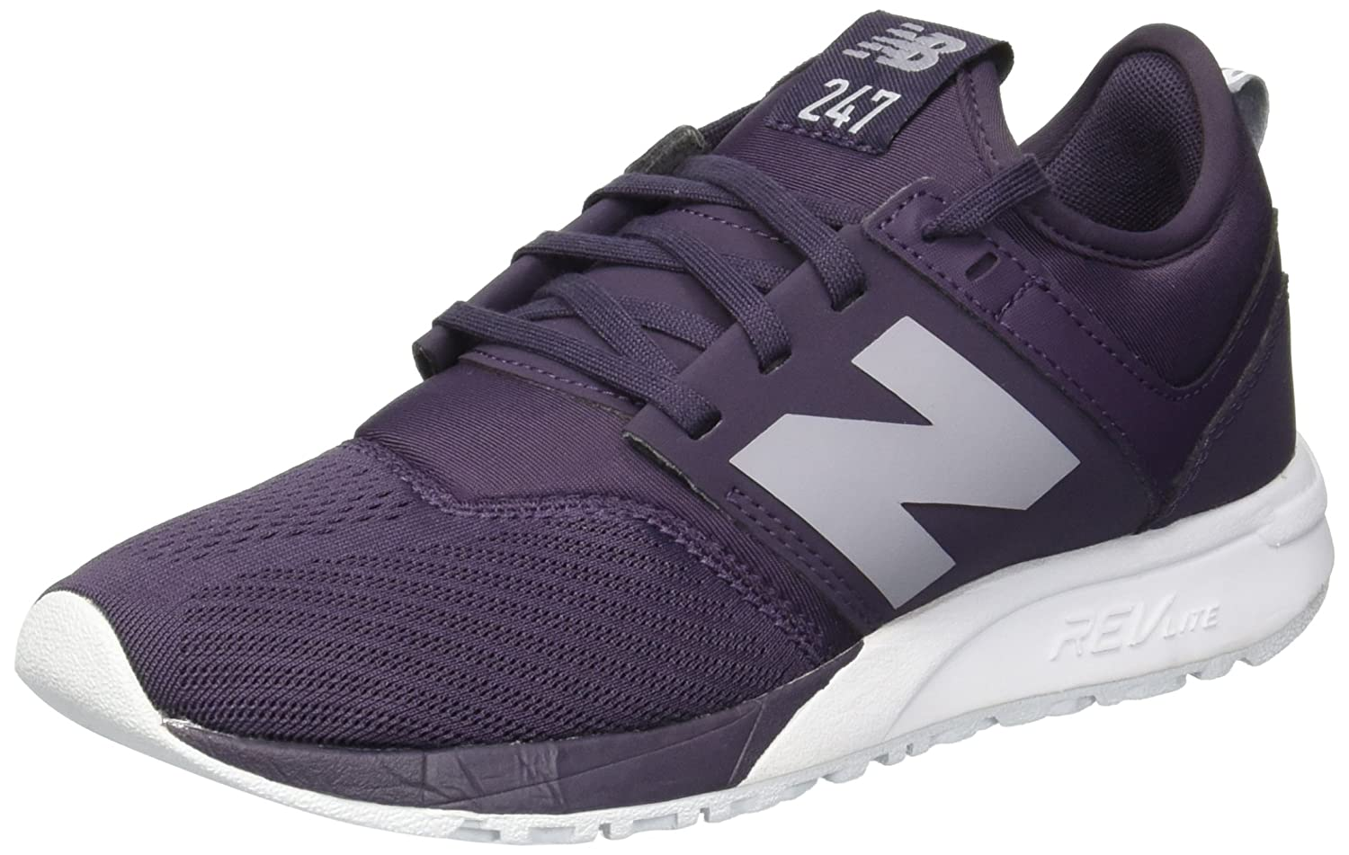 New Balance Women's 247v1 Sneaker B075R6VJF2 7 B(M) US|Elderberry