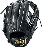 ZETT(ゼット) 野球 軟式 デュアルキャッチ グラブ (グローブ) 新軟式ボール対応 オールラウンド用 BRGB34930