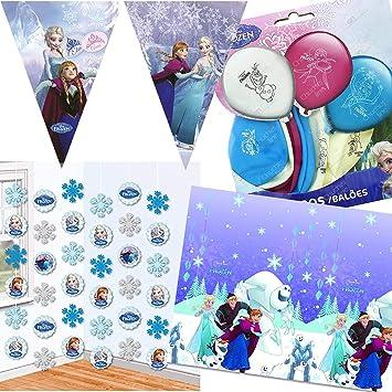 Procos/Carpeta 41 Piezas - Juego de decoración * Frozen ...