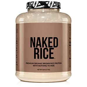 Naked Nutrition Organic Brown Rice Protein Powder