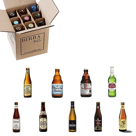 Caja degustación cerveza belga. Selección de 9 cervezas especiales y diferentes para disfrutar.