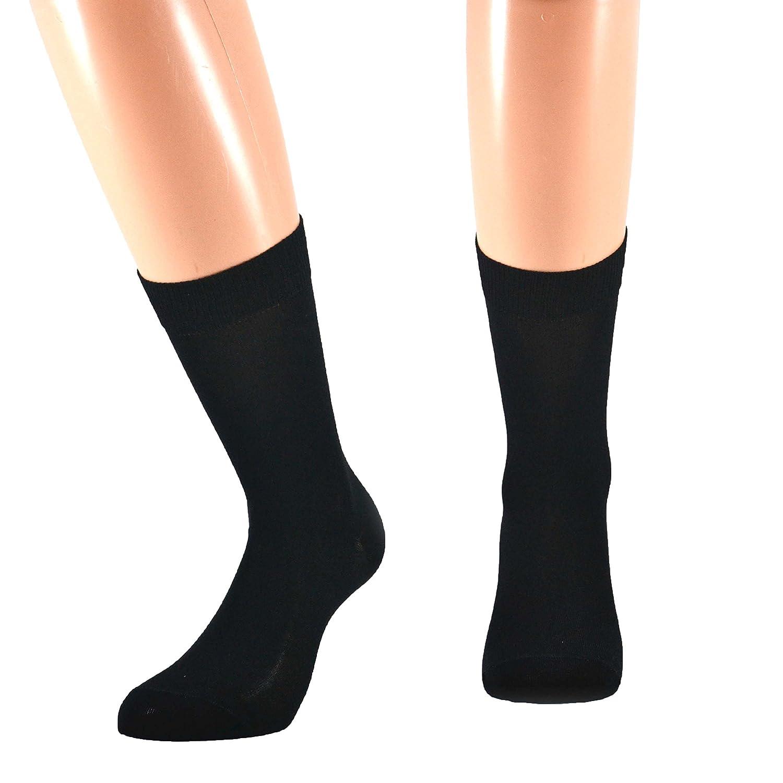 Fontana Calze, 12 paia di calze CORTE in puro cotone Filo di Scozia elasticizzate, confortevoli e rinforzate su punta e tallone. Prodotto Italiano. 82182142