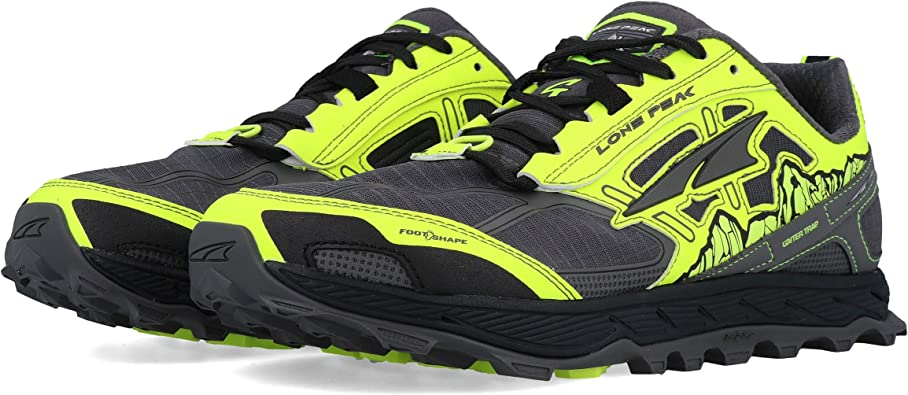 Altra Lone Peak 4.0 Zapatillas de Trail Running Yellow: Amazon.es: Zapatos y complementos