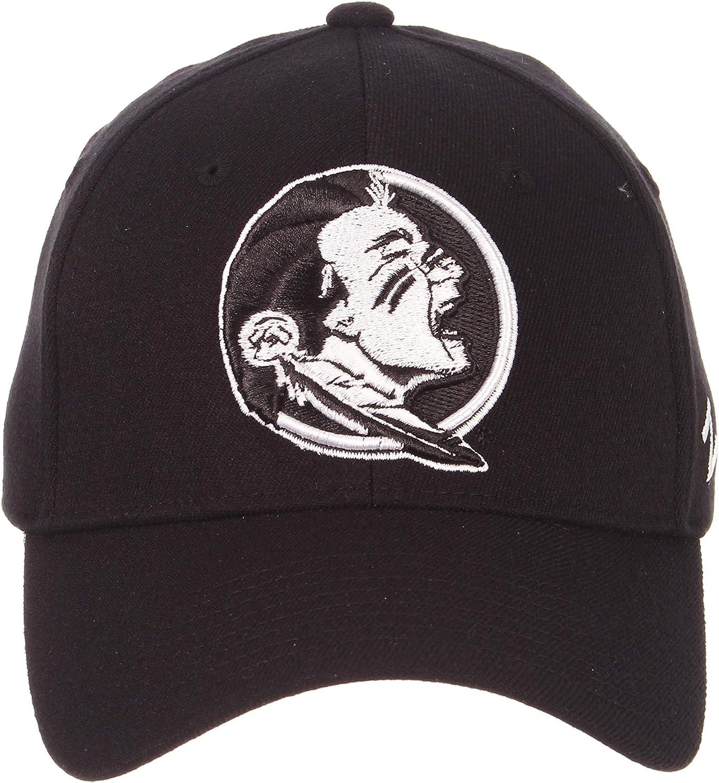 Zephyr Mens ZH Black Stretch Fit Hat