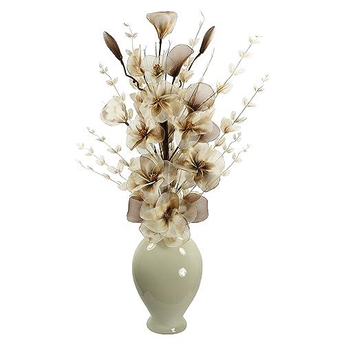 Decorative Floor Vase And Flowers Amazon