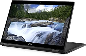 "Dell Latitude 0XG5X 2-in-1 Notebook (Windows 10 Pro, Intel i7-8650U, 13.3"" LCD Screen, Storage: 512 GB, RAM: 16 GB) Black"