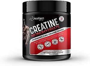 CREATINA MONOHIDRATADA EN POLVO - Proteinas Para Aumentar Masa Muscular - Creatina Monohidrato Micronizada 100% Pura Vegan Protein Powder- 500g de ...