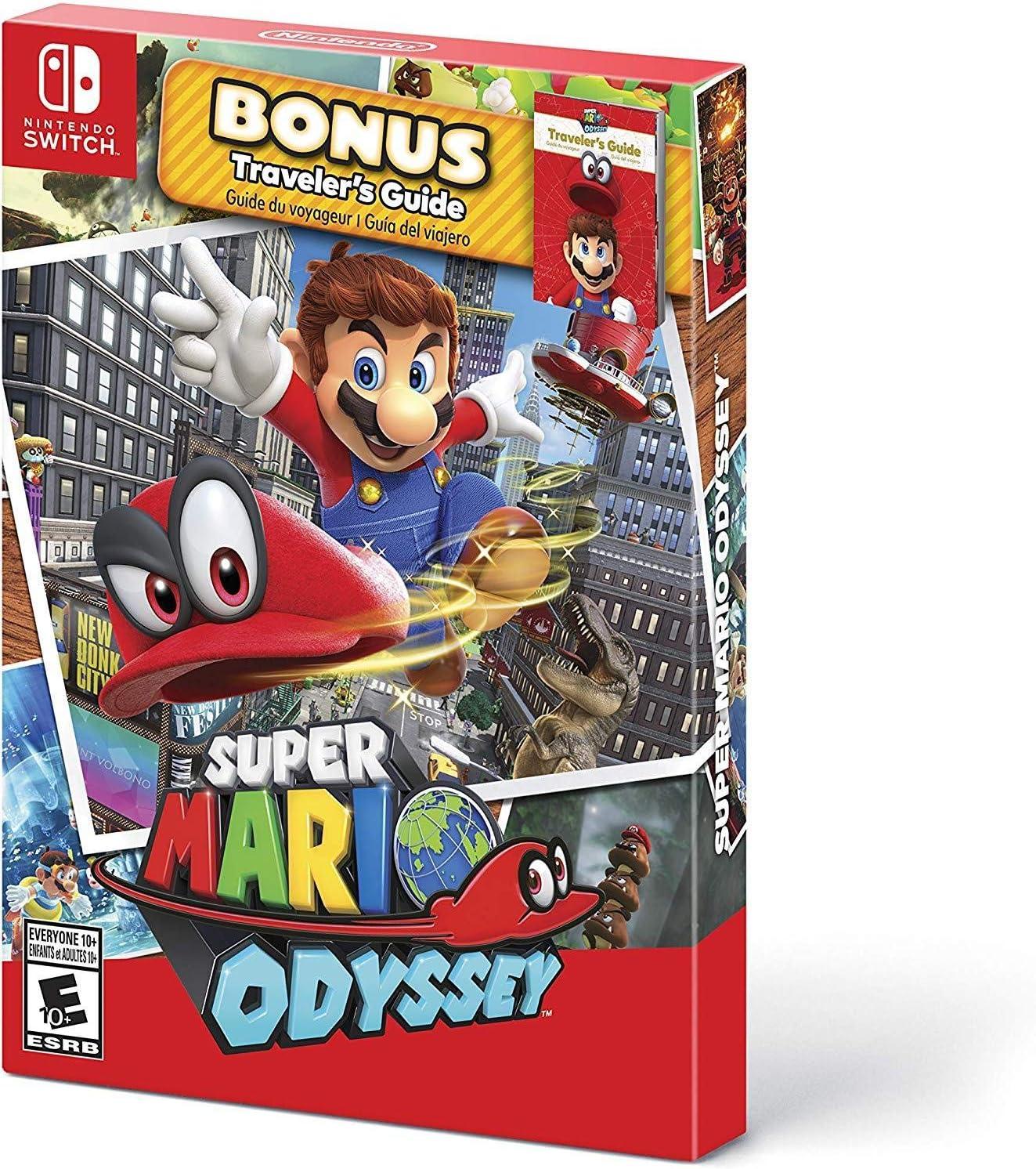 Amazon Com Super Mario Odyssey Starter Pack Nintendo