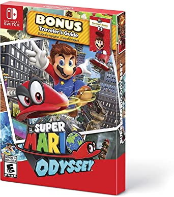 Amazon Com Super Mario Odyssey Starter Pack Nintendo Switch