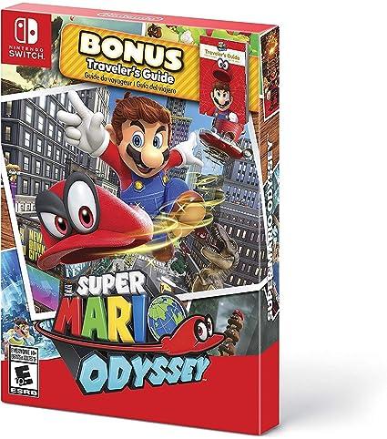 Super Mario Odyssey - Starter Pack for Nintendo Switch USA: Amazon ...