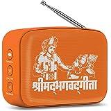Saregama Carvaan Mini Bluetooth Speaker (Bhagvad Gita, Orange)