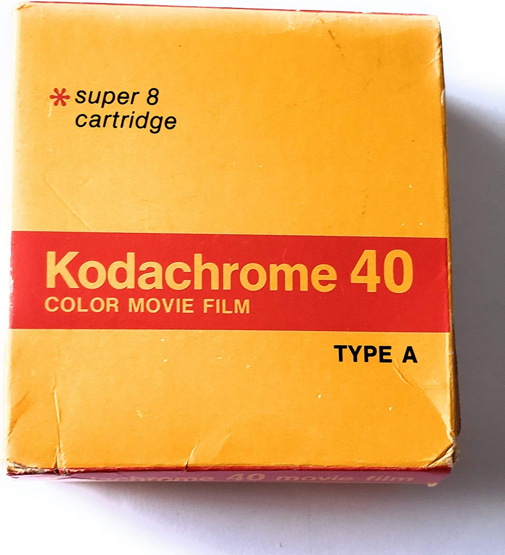 SP464 Cartridge 50 Roll Super 8 Kodak VISION3 50D//7203 Color Negative Film