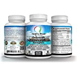 Enhanced Tongkat Ali Powder 500mg with Maca Root L-Arginine Ginseng Zinc 60 tablets, Sports Nutrition Testosterone Boosters