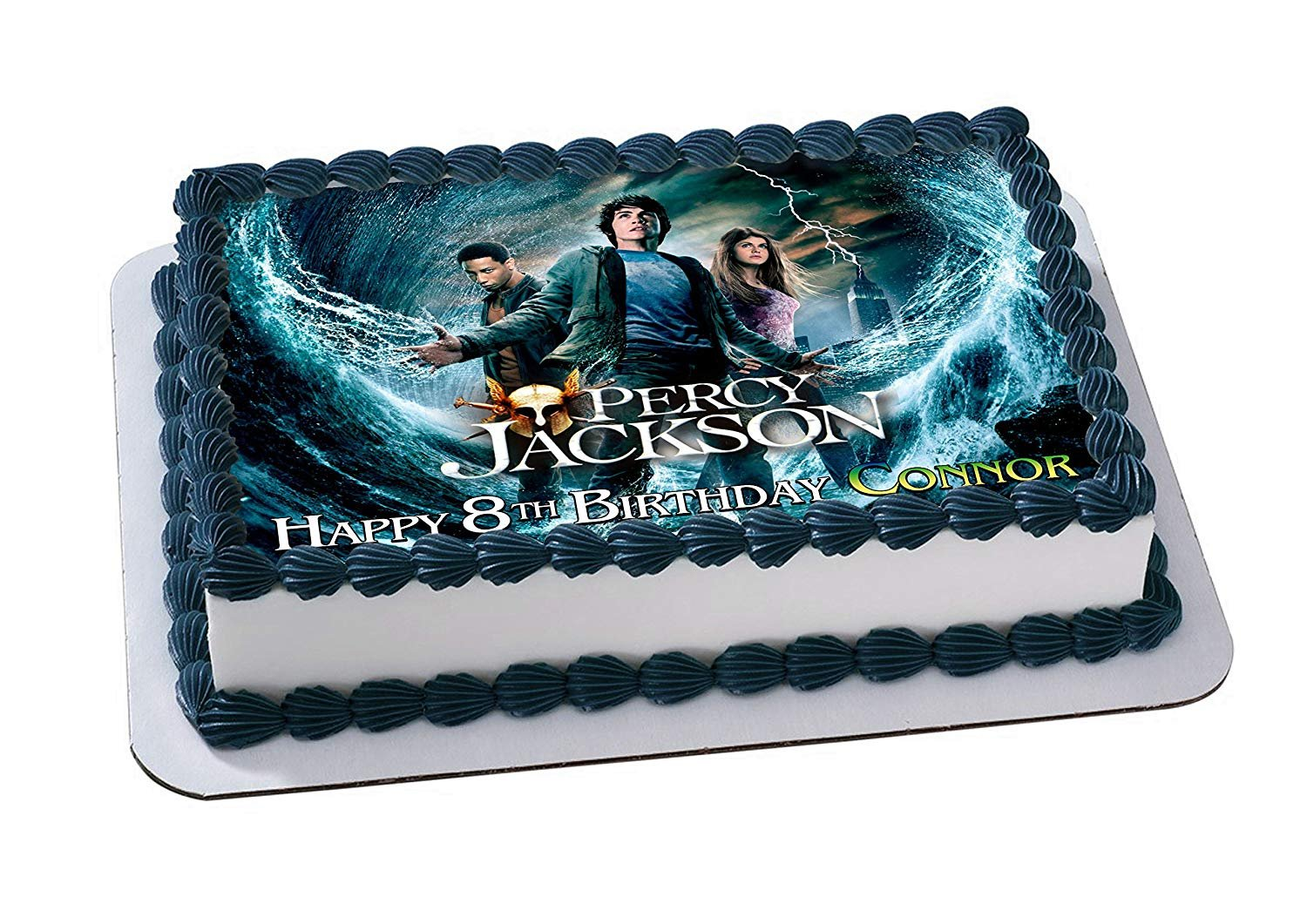 Percy Jackson And The Olympians Edible Cake Topper Personalized