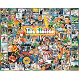 White Mountain Puzzles The Sixties - 1000 Piece Jigsaw Puzzle