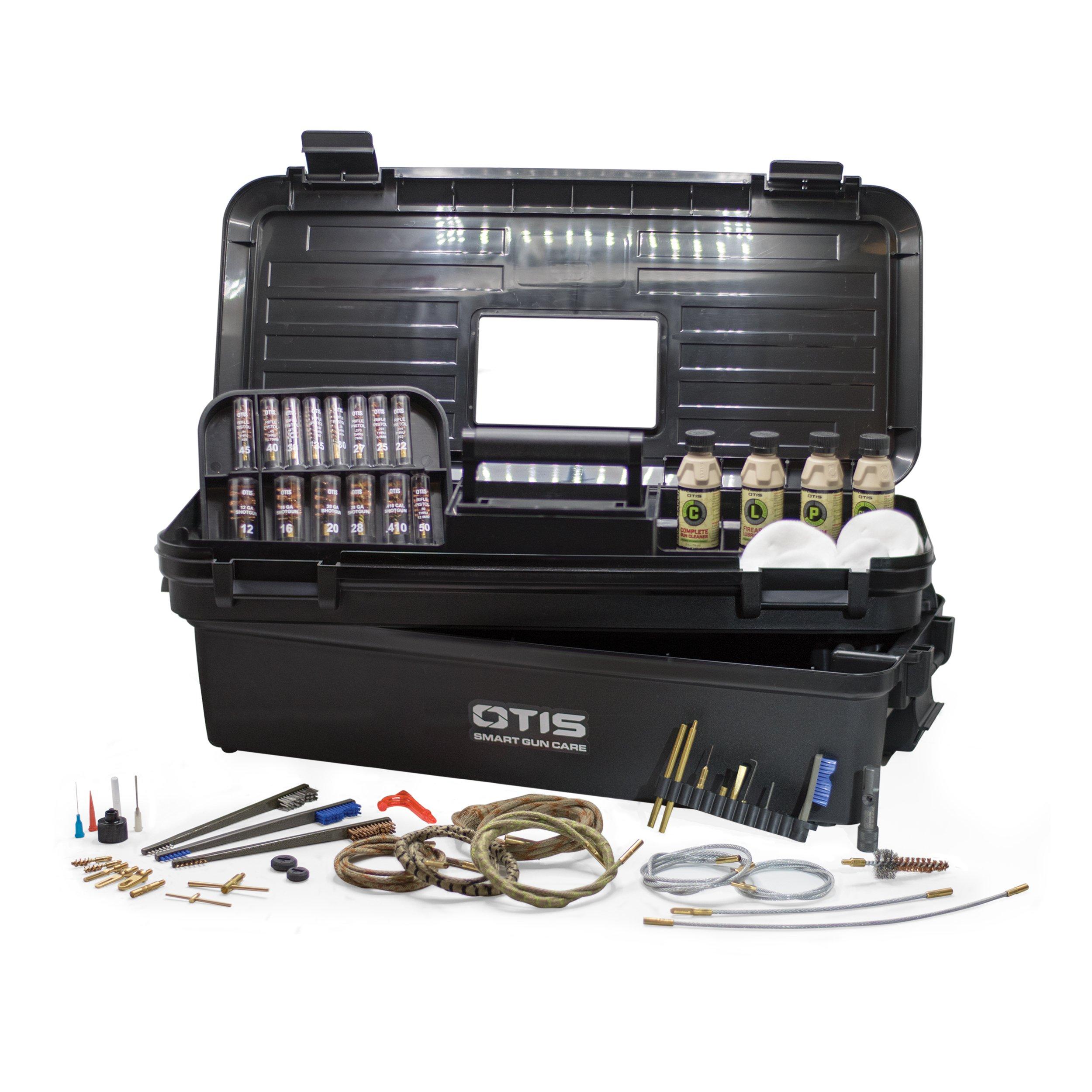 Otis All Caliber Elite Range Box with Universal Gun Cleaning Gear by Otis Technology