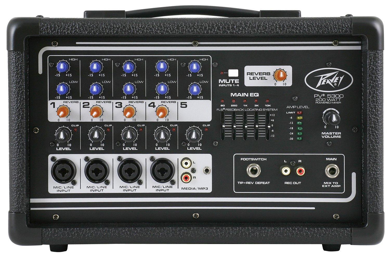 Peavey PV5300 Powered Mixer