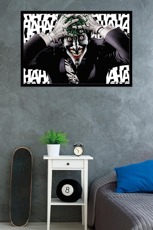 Trends International Joker-Crazy Premium Wall Poster 22.375 x 34 22.375 x 34 POD13680