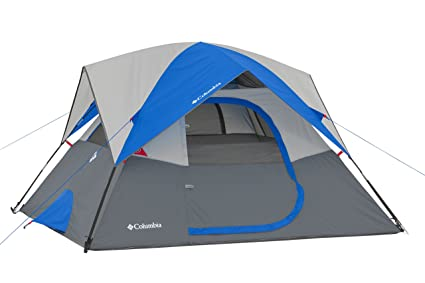 Image Unavailable. Image not available for. Color Columbia 4 Person Dome Tent ...  sc 1 st  Amazon.com & Amazon.com : Columbia 4 Person Dome Tent Grey/Blue : Sports u0026 Outdoors