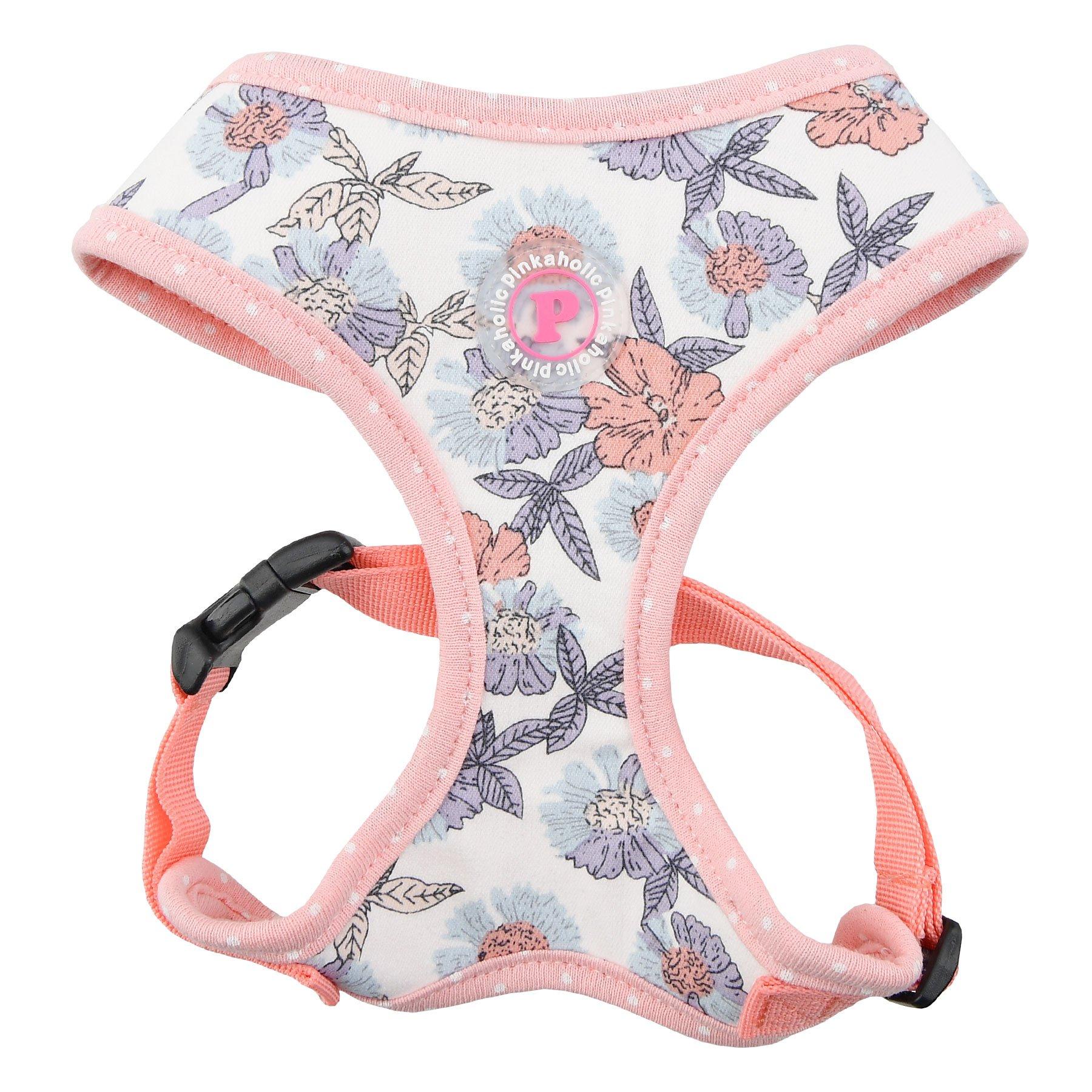 Pinkaholic New York Zinnia Harness, Small, Ivory