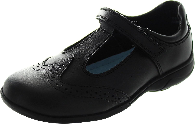 1a9ae340bd73a6 Term Jainine Bar, Chaussures de ville à lacets pour fille noir noir ...