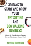 how to start a dog walking business in canada