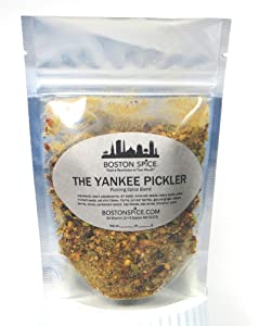 Boston Spice The Yankee Pickler Pickling Spice Seasoning Blend To Make Awesome Corned Beef Pastrami New England Boiled Dinner and Pickled Vegetables Slow Cooker Stovetop (Approx. 1/4 Cup of Spice)