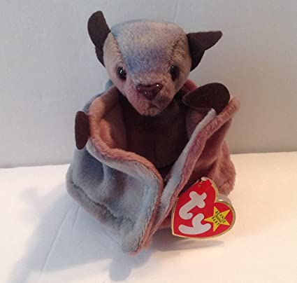 Amazon.com  Ty Beanie Babies Batty ty-dyed  Toys   Games 35546723a