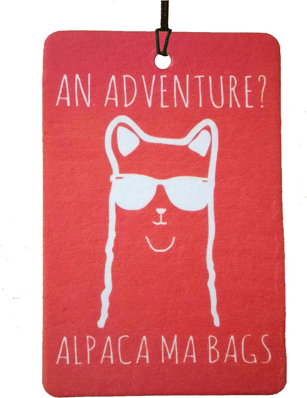 Ali Air Freshener An Adventure Alpaca Ma Bags Auto Lufterfrischer Auto