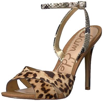 314e4349312 Sam Edelman Women s Aly Open Toe Heels  Amazon.co.uk  Shoes   Bags