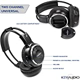 Pair of Two Channel Folding Adjustable Universal